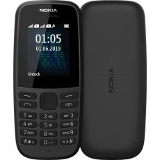 "105 4,5 cm (1.77"") 73,02 g Sort Feature telefon"