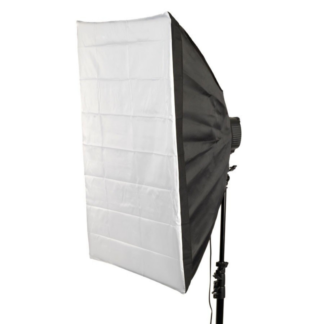 2 stk. Softbox-lamper til video