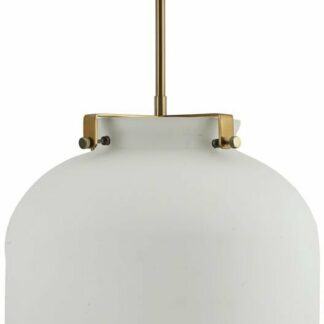 Ball, Lampe by House Doctor (D: 30 cm. x H: 35 cm., Hvid)