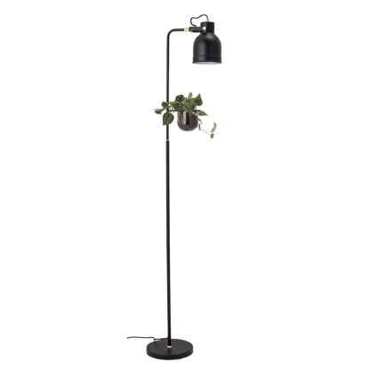 Bloomingville - Gulv Lampe - Sort Metal