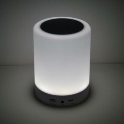 Højttaler bluetooth 3w LED musik lampe