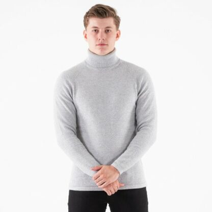 Lamp roll neck knit