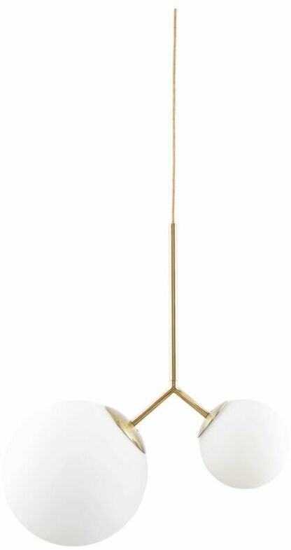 Lampe, Twis by House Doctor (L: 70 cm., Hvid)
