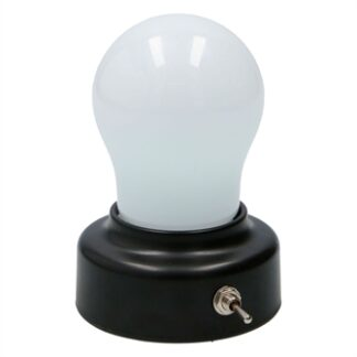 Night lamp Light bulb shape