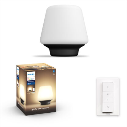 Philips Hue - Wellness Table Lamp (inkl. Lysdæmper) - White Ambiance