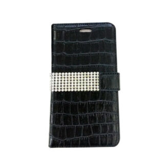"Radicover Flipside Universal Mobilcover 4"" (Sort - Croco Style)"