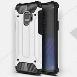Samsung Galaxy S9 Armor Guard Hard Case Mobilcover Hvid