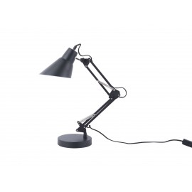 TABLE LAMP FIT SAND COATED BLACK
