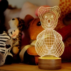 Teddy Bear lampe - Bulbing