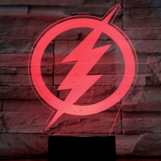 The Flash 3D lampe