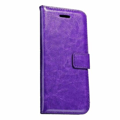 iPhone SE (2020)/8/7 Mobilcover m. Pung Wallet Leather Lilla